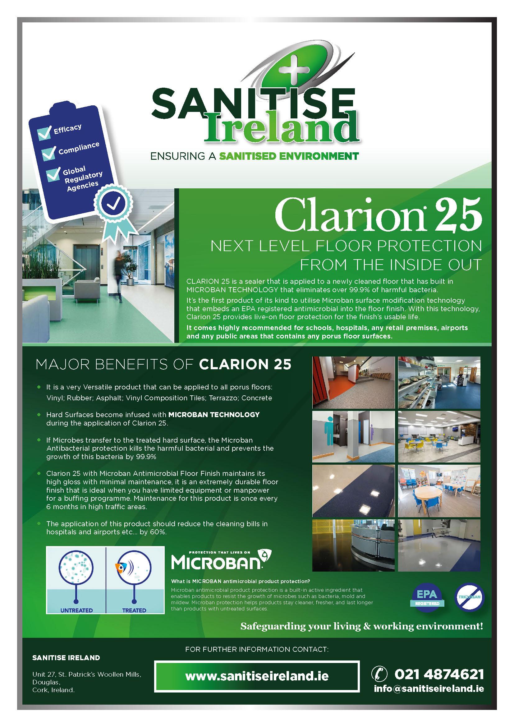 Santise Ireland - Clarion