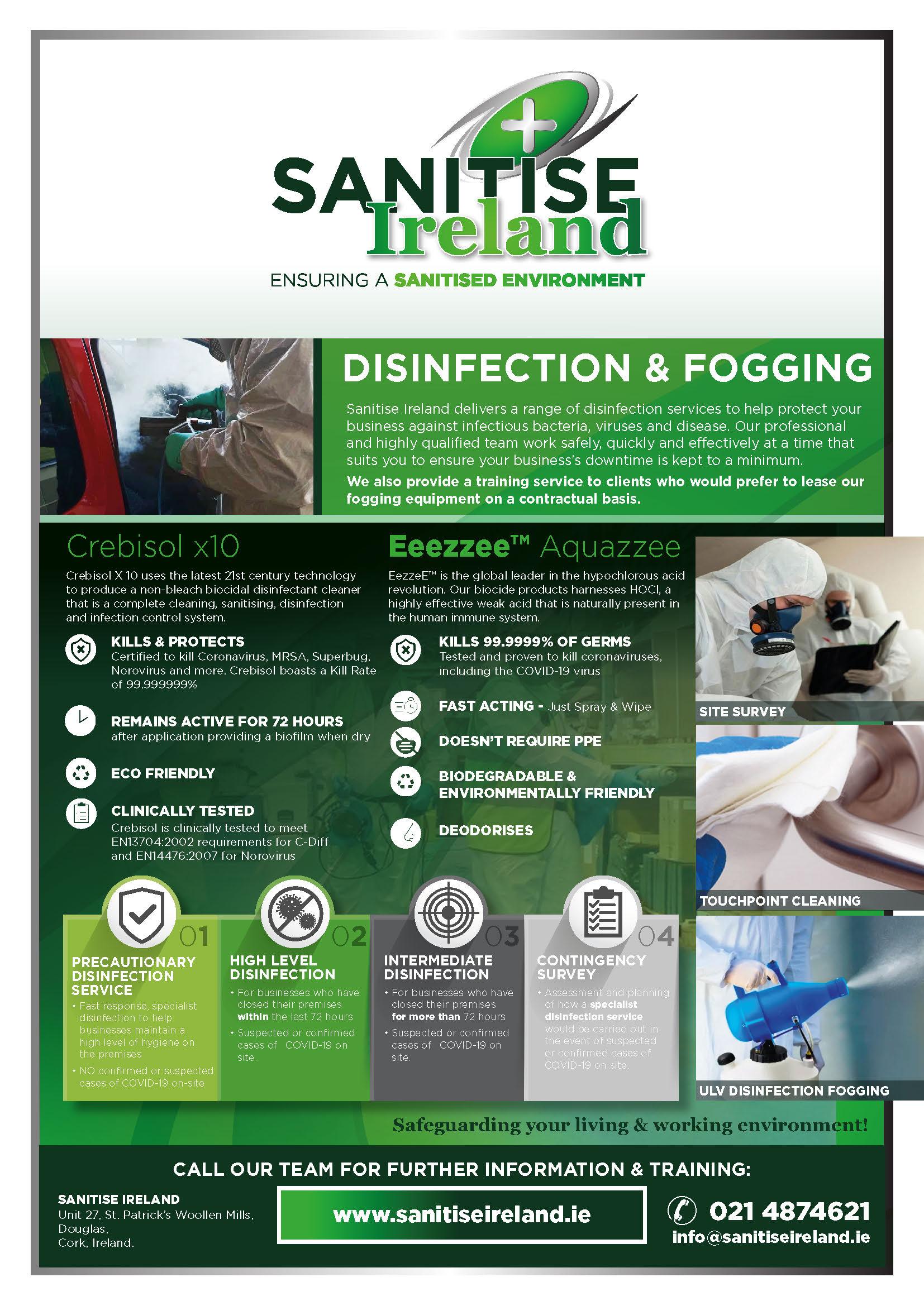 Santise Ireland - Fogging & Services