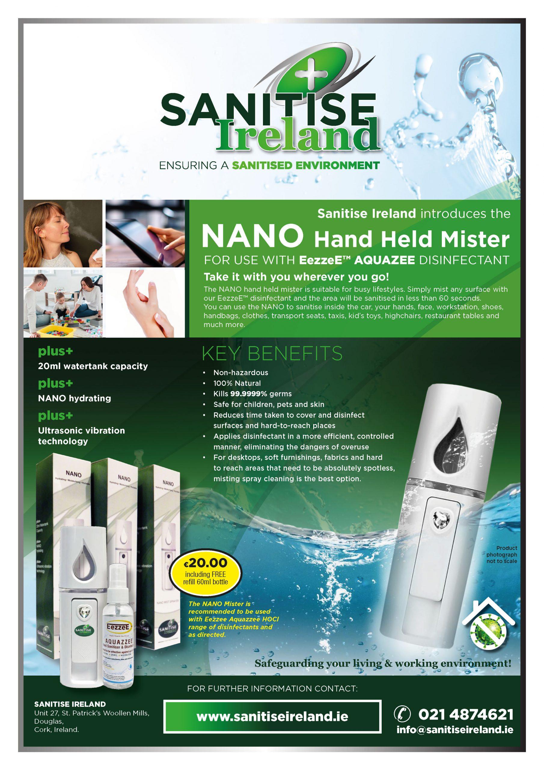 Santise Ireland - Nano Mister deal