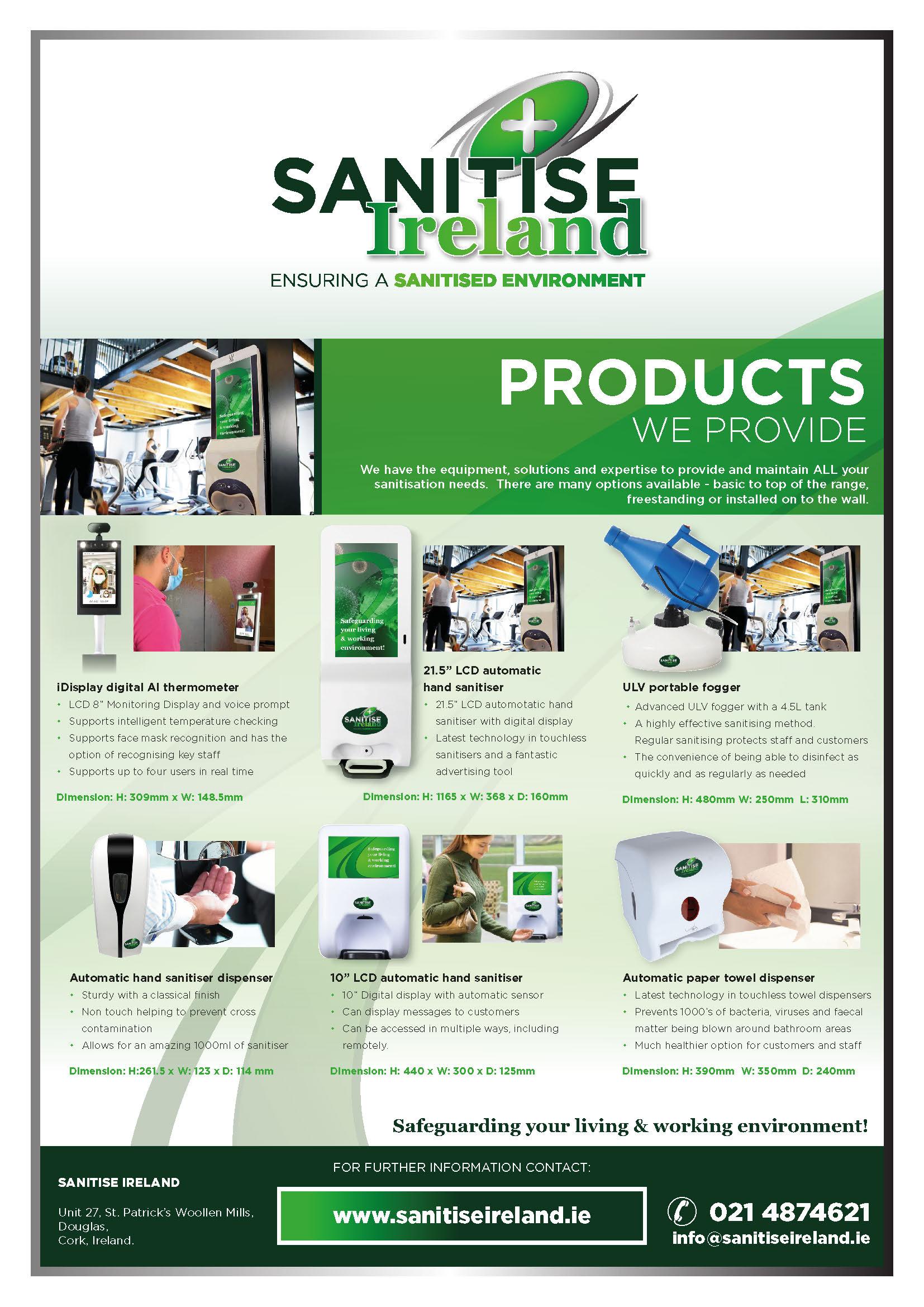 Santise Ireland - Products Insert
