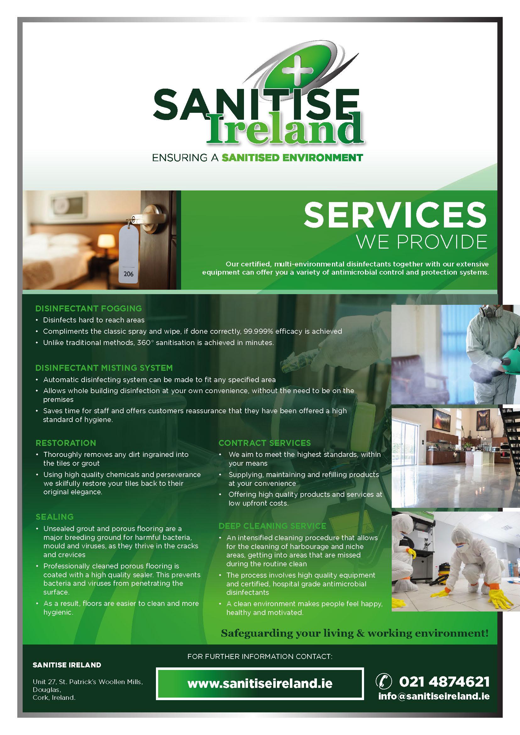 Santise Ireland - Services