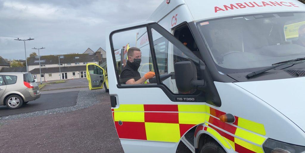 Sanitise Ireland with cork city ambulance