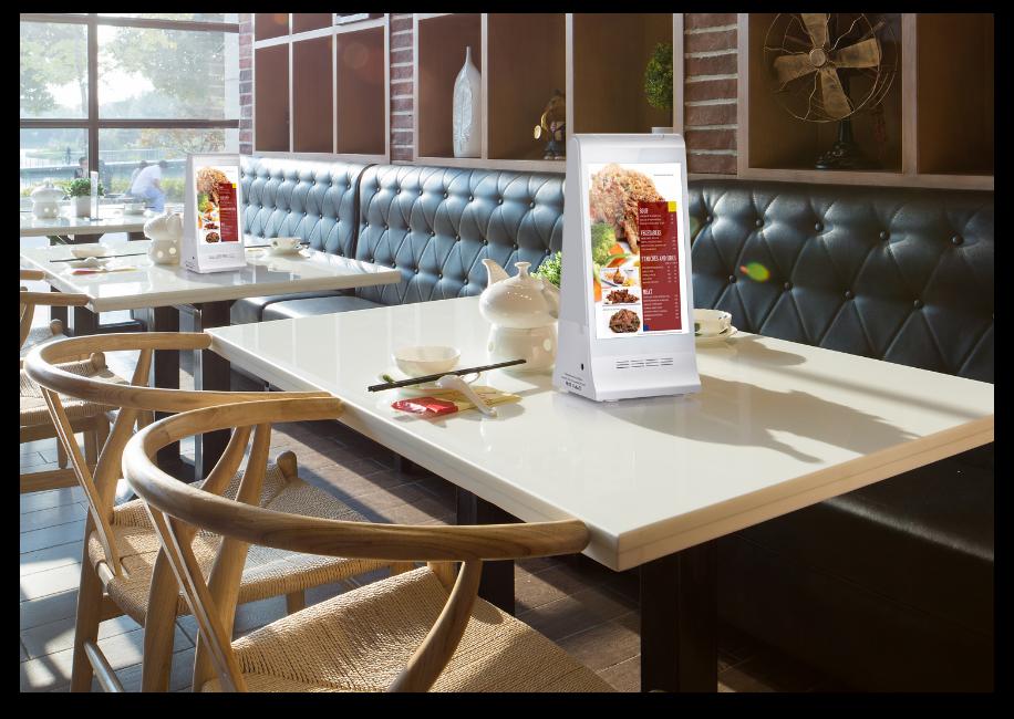 Table menu display